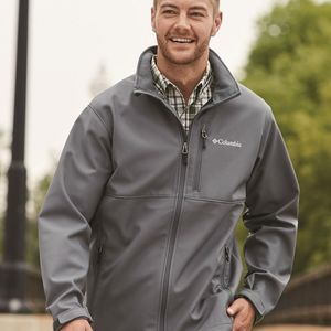 Columbia Ascender Softshell Jacket grey medium